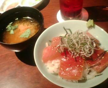 ルミネエスト彩箸鮪丼